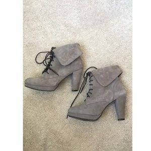 Steve Madden lace up booties